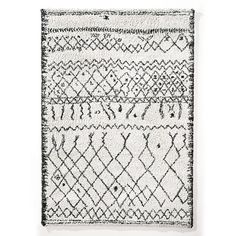 Afaw Berber Style Rug La Redoute Interieurs The rug to end all rug searches, the Afaw adds impeccable style to any room and every space. We call it THE La Redoute Rug as its one of our most. Black Rug, White Rug, Black And White, Rattan Lampe, Ethno Style, Shaggy Rug, Berber Rug, Cool Rugs, Weaving Techniques