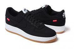 Supreme x Nike Air Force 1 Black