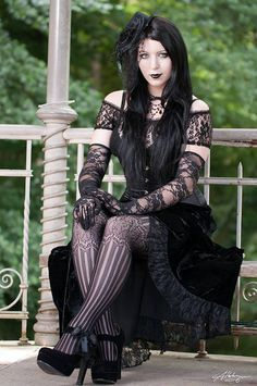 Gothic Romantic Girl