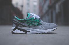 Asics Gel Kayano - Grey / Black / Green | Sneaker