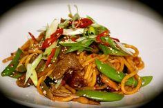 Sesame Beef & Hokkien Noodle Stir Fry