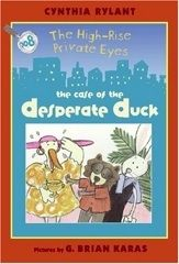 In their latest case, animal detectives Bunny and Jack help Mabel the duck find out who stole the sugar cubes from her tea room.   J RYL