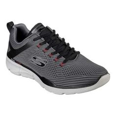 Skechers Synthetic Equalizer 3.0 Oxford in Red Black (Red