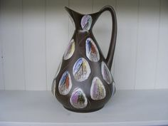 Lava, German, Pottery, Ceramics, Space, Etsy, Unique Jewelry, Handmade Gifts, Vintage