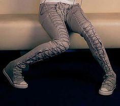 Converse confection by designer Daryl Van Wouw Converse Pants 9a6d41d2d