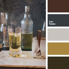 I love that these colors immediately remind me of Mr. Larix, and the corresponding photo is of a hobby he enjoys. :)