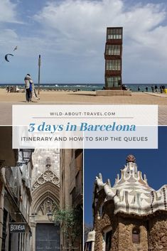 Barcelona is one of the most famous and crowded cities in Europe. Check out my itinerary to plan the perfect 3 days in Barcelona, including skipping the queues to visit the Sagrada Familia and other landmarks. Things to do in Barcelona | 3 days in Barcelona | Things to see in Barcelona | Barcelona Skip the Lines | Best of Barcelona | Barcelona itinerary | Anton Gaudì | Sagrada Familia  #barcelona #traveltips #barcelonatravel #modernism #unescowhs