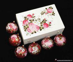 Ёлочные шары из Жостова - Новогодние чудеса в Русских Народных Промыслах - Фото - Всеволожский форум