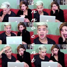 Youtubers  Juan Pablo Jaramillo & Juana Martinez viendo porno
