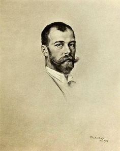 Tsar Nicholas II by Friedrich August von Kaulbach, 1903.