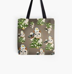 Large Bags, Small Bags, Cotton Tote Bags, Reusable Tote Bags, Maneki Neko, Fashion Room, Medium Bags, Bonsai, Vintage Designs