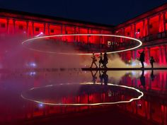 AUDI's 'fifth ring' installation by MAD architects lights up milan