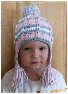 Na časté dotazy vkládám návod:)))))  Maminky, je to jen spojení jednoho námi oblíbeného návodu... Knitted Hats, Crochet Hats, Beanie, Baby Shower, Knitting, Fashion, Beanies, Caps Hats, Tejidos