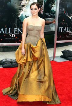 GOOD GOD!! Emma Watson in Bottega Veneta. THAT DRESSSSSSS