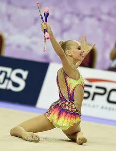 Yana Kudryavtseva (Russia) # World Championships 2014 # Izmir, Turkey # September 26, 2014