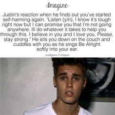 #imagine #lovethis this made me cry a little love you justin bieber no matter what happens