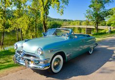 Morris Dillow's 50 Ford at Beaver Bridge near Eureka Springs Road Trippers, Eureka Springs, Us Cars, Car Show, Arkansas, National Geographic, Hot Wheels, Antique Cars, Bridge