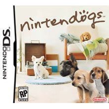 nintendogs ds puppies - any nintendogs game.