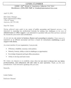 40 best cover letter examples images on pinterest cover letter for