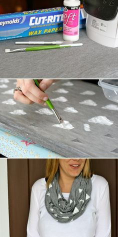 DIY: fabric patterns