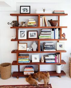 This is the kind of bookshelf/shelving I'm thinking of