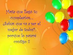 Tarjetas de felicitaciones de Cumpleaños | Tarjetas de Cumpleaños Happy Birthday, Neon Signs, Facebook, Happy Birthday Cards, Snoopy Wallpaper, Birthday Captions, Birthday Msgs, Happy Aniversary, Happy Brithday
