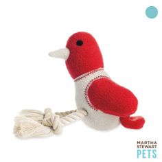 Martha Stewart Pets Fleece Chew Toy ( our Clowy and Montana love this toy)