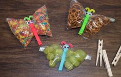Make snacks on-the-go even cuter with these adorable butterfly snack bags!