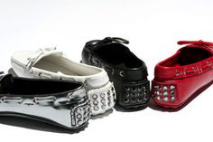 Car Shoe Crystal Studs Embellishment  #carshoe #women #CarShoeAW13 #collection