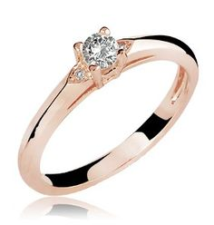 Anel de Ouro Tiana Diamond Rose - lojasrubi