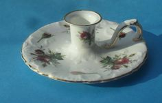 Pretty Hammersley Floral Candle Holder