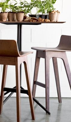 A quirky addition to the modern home, the Ava bar stools make meals fun.