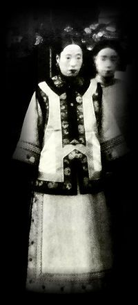 Photo of the last Empress Dowager of China (隆裕皇太后).