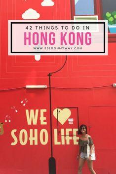 I'm On My Way's top 42 things to do in Hong Kong Croatia Travel, Thailand Travel, Bangkok Thailand, Hawaii Travel, Hong Kong Cafe, Hong Kong Travel Tips, Hong Kong Shopping, Hong Kong Beaches, Hong Kong Fashion