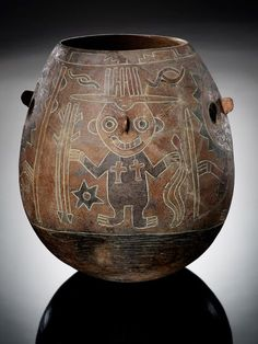 Paracas vessel - Infinity of Nations: Art and History in the Collections of the National Museum of the American Indian - George Gustav Heye Center, New York History Of Wine, American Indians, Native American, Native Art, History Facts, National Museum, Tribal Art, Ancient History, South America