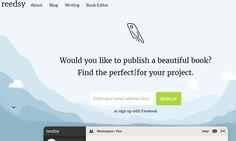 Reedsy es una plataforma web gratuita con todas las herramientas que necesitamos para crear y editar nuestros eBooks, pueden exportarse como ePub y PDF.
