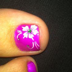 Summer pedicure!!!