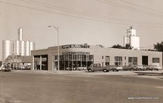 Vintage Photograph Tarbox Ford Dealership 1950s Photo Men