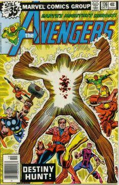 Thor - Iron Man - Vision - Hawkeye - Scarlet Witch - John Romita