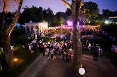 Amazing shot of the Future of Storytelling Conference in our Tuscan Garden!