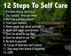 Things to keep in mind for 2014. Start on a positive note by taking care of yourself