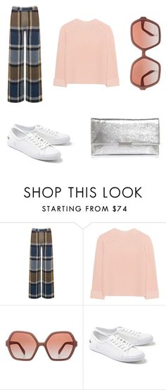 """chic"" by alexandriamcbride on Polyvore featuring Warehouse, iHeart, Prada, Lacoste and Loeffler Randall"