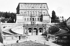 Villa Farnese (1559 CE) Caprarola, north of Rome