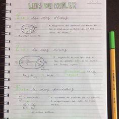 Leis de Kepler ☀️ { #fisica x #leisdekepler x #trajetoriaeliptica x #leidasareas x #leidasobitas x #studies x #estudos x #vestibular x #enem }