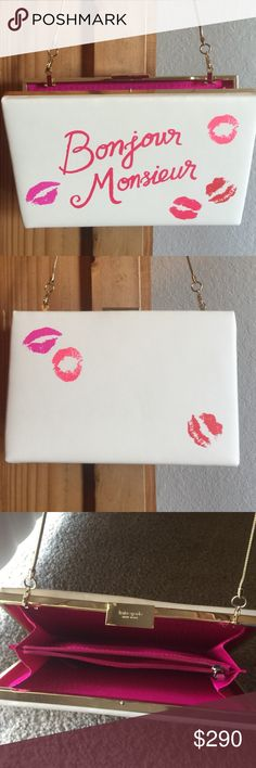 """Kate spade cute purse used once. Like new Kate spade like new purse. Very unique and in excellent condition. Authentic yes!! It's 9"""" x 6"""" kate spade Bags Shoulder Bags"""