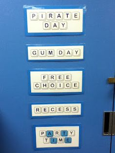 An Educator's Life: Rewards Made Easy- kids earn tiles to spell out words. The first word they spell is the prize they win! Works like a charm! Font link and my experience in post!