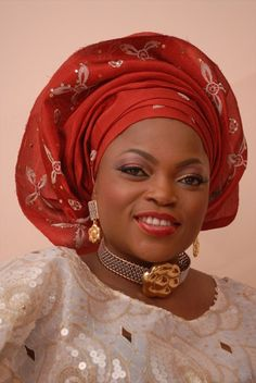"""BN Exclusive: It's Official, """"Jenifa"""" Star Funke Akindele is a Married Woman! Photos & Details of the Beautiful Union with Her Beau Kehinde Oloyede Only On BN Nigerian Wedding Dress, African Wedding Attire, African Weddings, African Wear, African Fashion, African Style, African Attire, Corporate Fashion, Married Woman"""