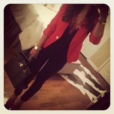 I need a red blazer