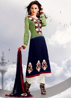 This is the image gallery of Pakistani Shalwar Kameez Collection 2014 for Girls. You are currently viewing Fancy Blue Georgette Salwar Kameez For Coming Eid Festival. All other images from this gallery are given below. Give your comments in comments section about this. Also share stylehoster.com with your friends.  #shalwarkameez, #pakistanisalwarkameez, #pakistanifashion, #pakistanclothing