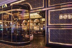 Rosina (Las Vegas, United States) Simeone Deary Design Group under a consulting agreement with Gensler Asia Restaurant, Restaurant Design, Champagne Bar London, Portal, Dubai, Las Vegas, North Design, Fusion Design, Bar Design Awards